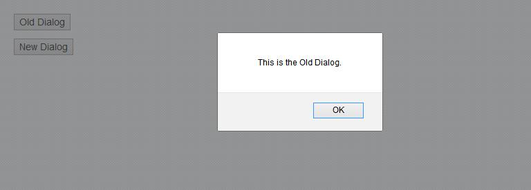 OldDIalog