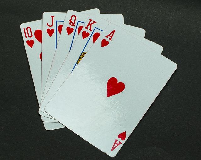 poker hearts